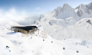 The Arlberg's new Flexen lift will be the final link in the new network
