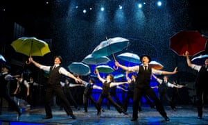 Chichester's production of Singin' In The Rain in the West End.