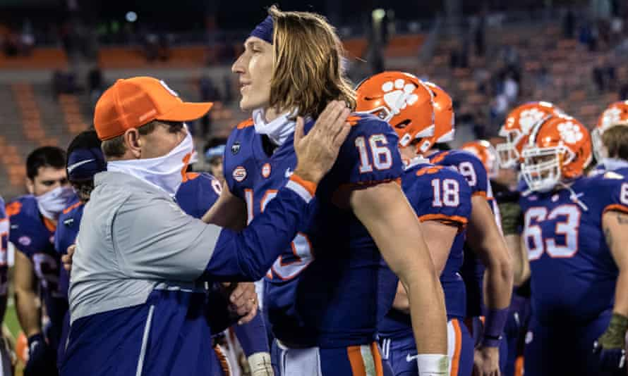 Trevor Lawrence is widely tipped to be the first pick in the 2021 NFL draft