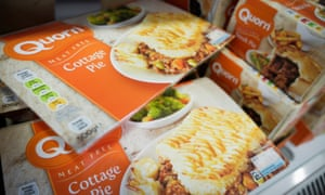Packs of Quorn cottage pie