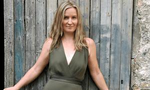 Harpist and singer … Brona McVittie.