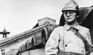 Photo by Fine Art Images/Heritage Images/Getty Images. Dmitri Shostakovich, Russian composer, during the Siege of Leningrad, 1941