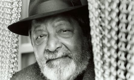 VS Naipaul in 2004. His most famous works include A House for Mr Biswas and A Bend in the River.
