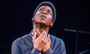 What are you looking at … Tyrone Huntley in Angry by Philip Ridley.