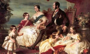 """Portrait of Royal Family of Queen Victoria by Franz Xaver Winterhalter: in David Cannadine's book, the """"victorious century"""" was, pre-eminently, Victoria's century."""