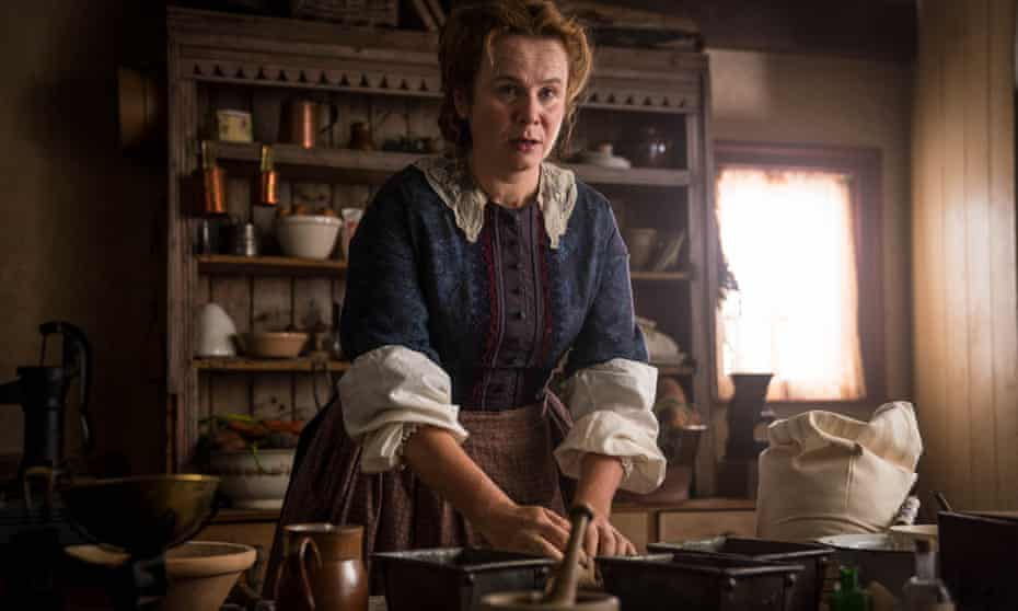 Emily Watson as Marmee March in the BBC's 2017 dramatisation of Little Women.