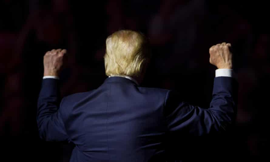 The alt-right and Donald Trump: 'Now we are the whole man.'
