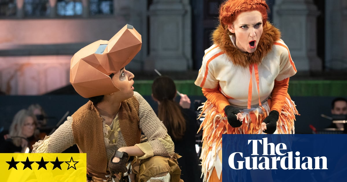 The Cunning Little Vixen review – small scale but big impact for warm and witty staging