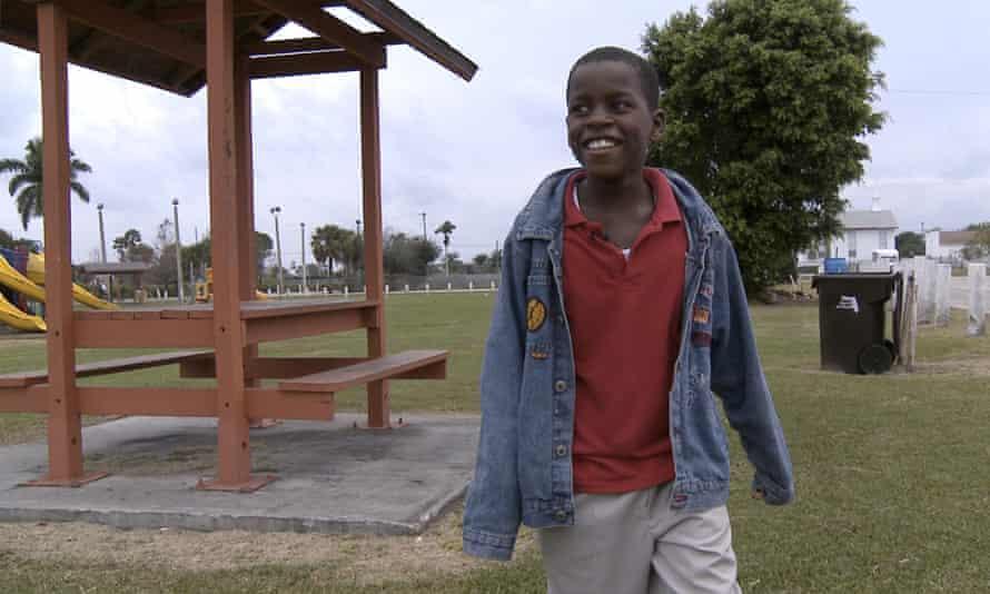 Damon Weaver, seen near his home in Pahokee, Florida in 2009.
