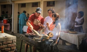 Braais are the most common dining experience in the Karoo