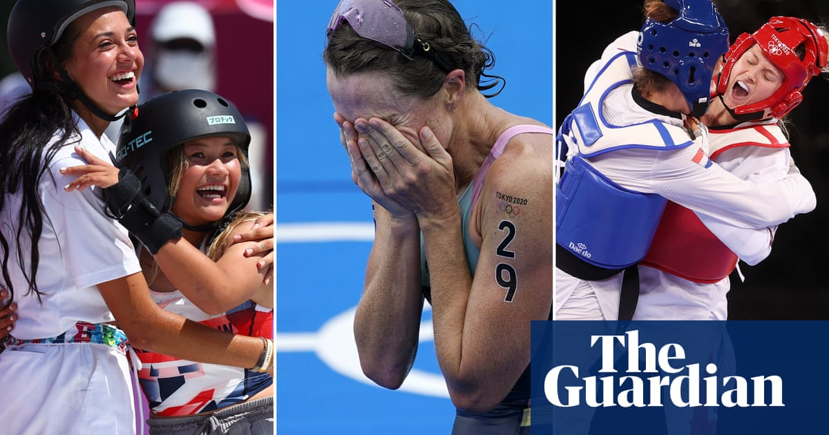 'It spoke of humanity and hope': our readers' favourite Olympics moments