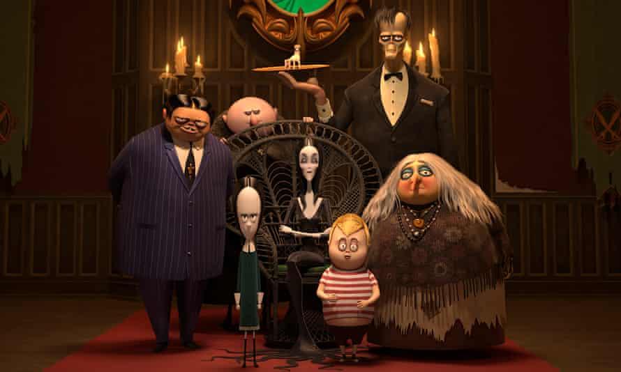 Killer voice cast ... The Addams Family.