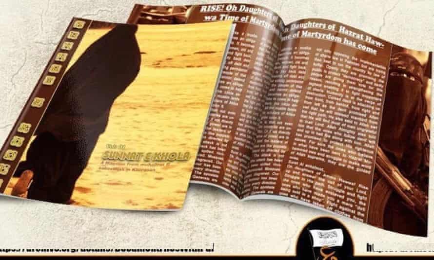 The magazine Sunnat-i-Khaula is named after a 7th-century female Muslim warrior.