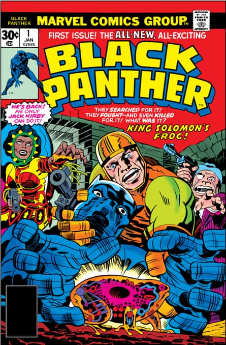 Black Panther 1977, illustrated by Jack Kirby