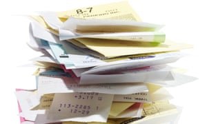 Every year, 11.2bn receipts are issued in the UK.
