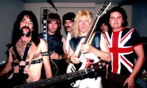 Spinal Tap on 7/10/84 in Chicago, Il. in Various Locations, (Photo by Paul Natkin/WireImage)