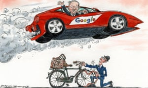 Google's tax advisers seem to be too fast-moving for Her Majesty's Revenue and Customs.