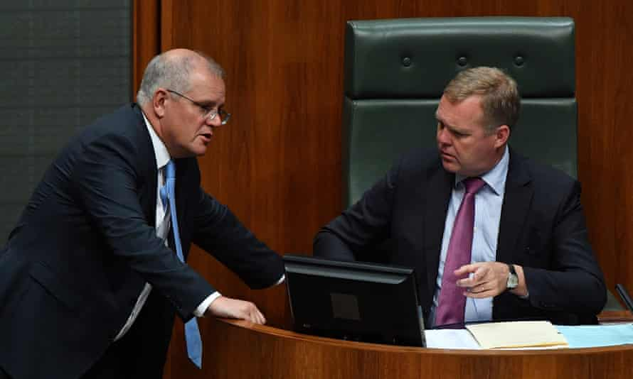 Scott Morrison and Speaker Tony Smith