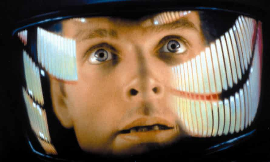 Keir Dullea, playing astronaut David Bowman, in 2001: A Space Odyssey.