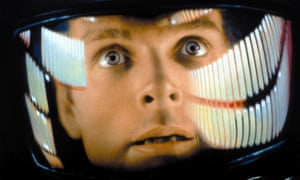 Keir Dullea in the 1968 film 2001: A Space Odyssey.