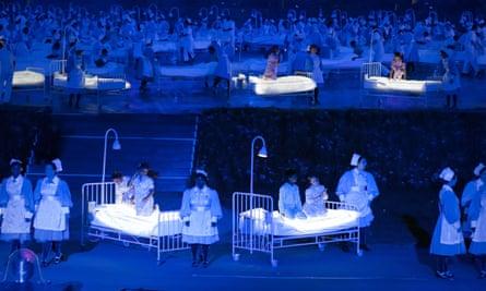 The 2012 Olympics opening ceremony