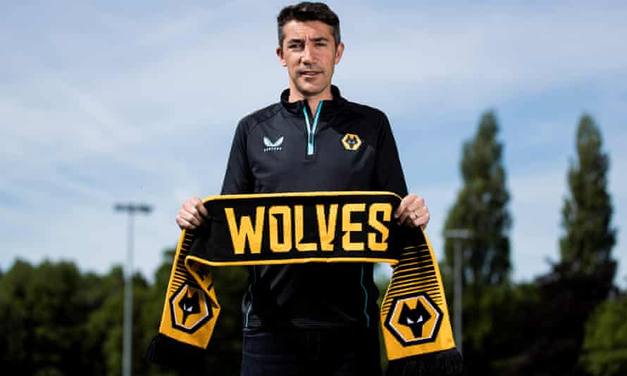 Bruno Lage says his ambition is to 'continue and to improve' what Nuno Espírito Santo did at Wolves.