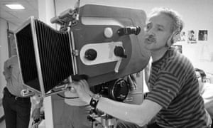 Haskell Wexler at work on Medium Cool, 1969.
