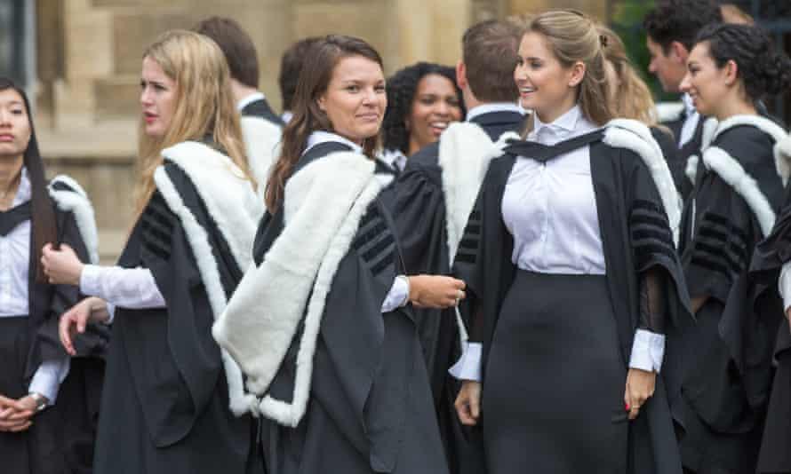 Cambridge university graduation day