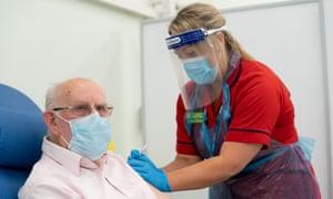Coronavirus vaccinations began in the UK on Tuesday.