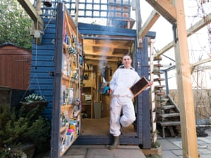 The Bee Eco Shed – owned by George Smallwood