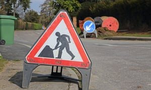 Four weeks without a landline as BT engineers insisted work had to be carried out in the road.