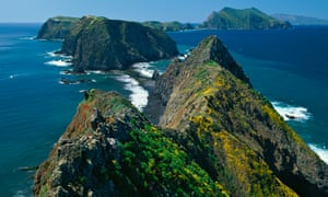 Inspiration Point, Anacapa Island in springtime.