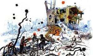 Molly Crabapple rebar