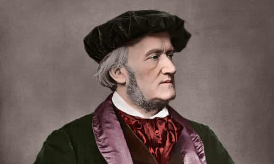 Portrait of German composer Richard Wagner, 1871.