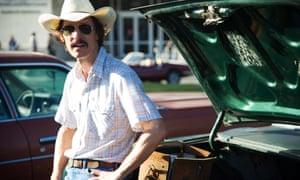 McConaughey's Oscar-winning performance in the Aids drama Dallas Buyers Club.