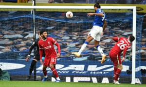 Liverpool Denied By Everton And Var In Wild Merseyside Derby Draw Football The Guardian