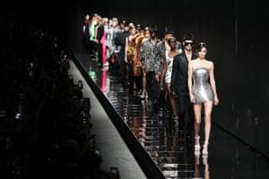 Versace at Milan autumn/winter 2020