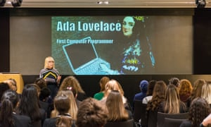 52 girls and ten teachers from schools in London and Yorkshire attended our and Digital development's annual Ada Lovelace day on 9 October 2018