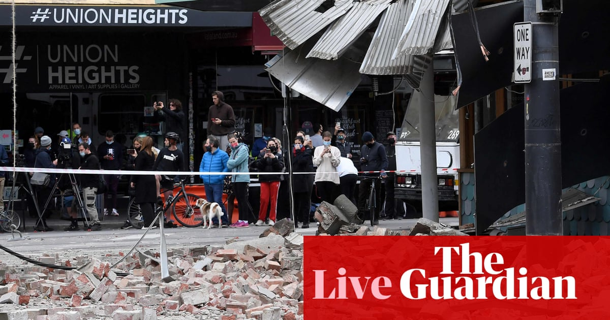 Victoria earthquake live updates: Melbourne buildings damaged as residents told to expect more aftershocks