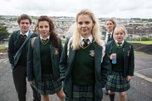 James Maguire (Dylan Llewellyn), Michelle Mallon (Jamie-Lee O'Donnell), Erin Quinn (Saoirse Jackson), Orla McCool (Louisa Harland), Clare Devlin (NIcola Coughlan),