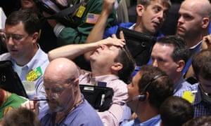 The New York Mercantile Exchange, 15 September 2008.