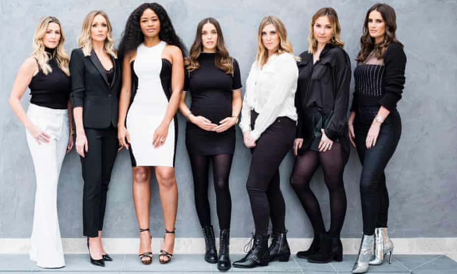Leanne Brown, Jennifer Lonergan, Amara Kanu, Rachel Peters, Helen Drury, Maggie Devine-Inman and Erin Borini