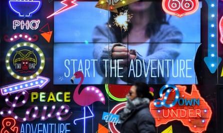 STA Travel advertising
