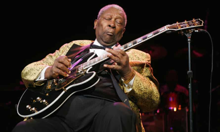 BB King (1925-2015). 'Hard luck and trouble' brought to a sublime level