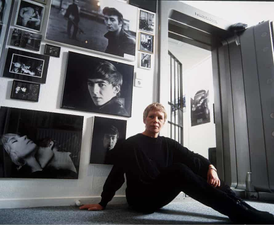 A fate forever connected ... Astrid Kirchherr in 1995.