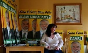 Fiona Johnston of Sinn Féin at her home in Dundalk, Co Louth.
