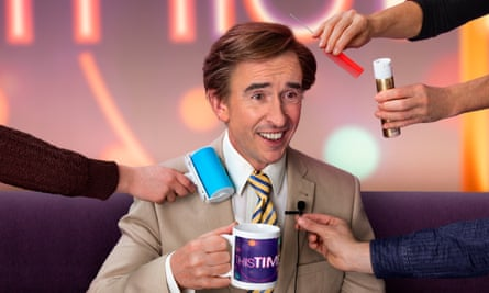 'There's no point doing anything that is just based on nostalgia' … This Time With Alan Partridge.