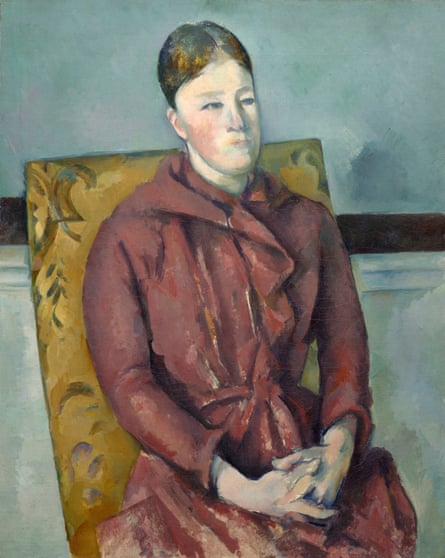 Madame Cézanne in a Yellow Chair, 1888/90, by Paul Cézanne.
