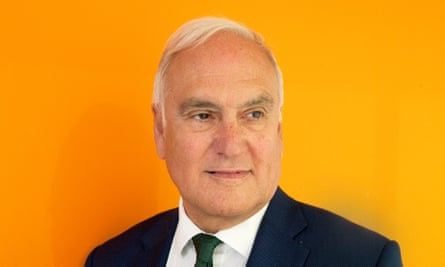 Michael Wilshaw, the outgoing chief inspector of schools, at Ofsted HQ