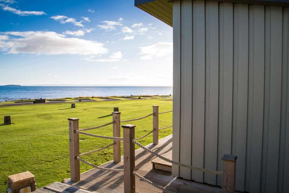 Beach Huts, Crail, Fife